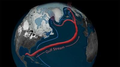 Unstable pattern ocean