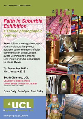 Faith in Suburbia: A shared Photographic Journey