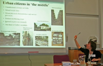 Sustainability within Indian urban planning: Urban Citizens in 'the middle'