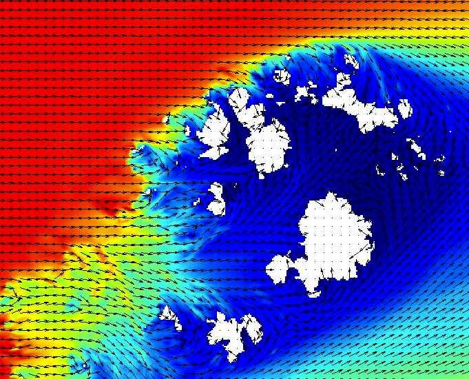 Ocean wave refraction and coastal geomorphology in the Scilly Isles