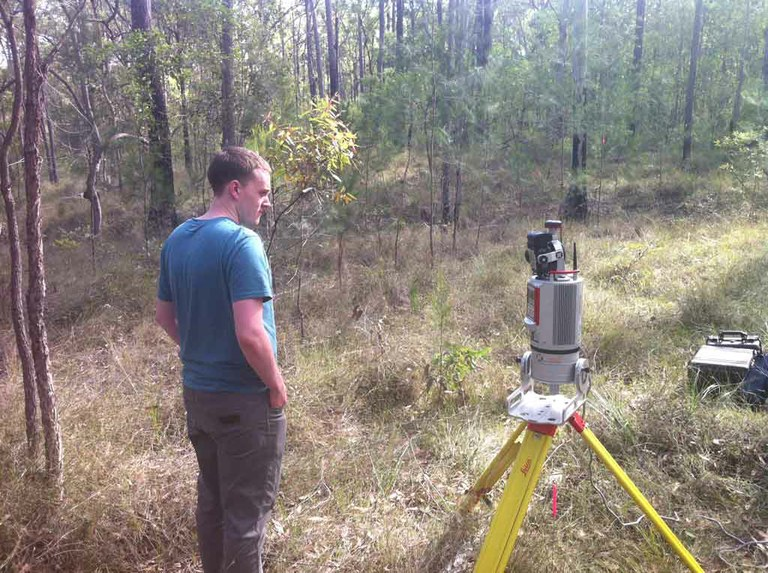 Remote sensing instruments compared in Queensland