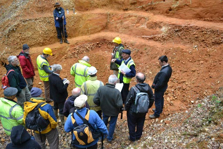 Dating marine gravels in Hertfordshire
