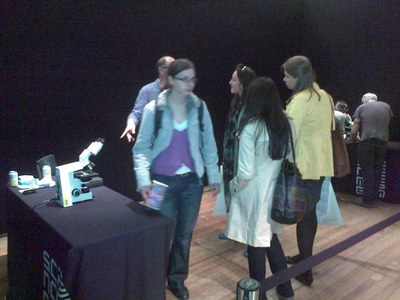 ECRC team presents Science Museum 'Lates' event