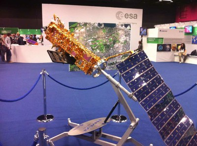 UCL Geography Earth Observation team at ESA's Living Planet Meeting
