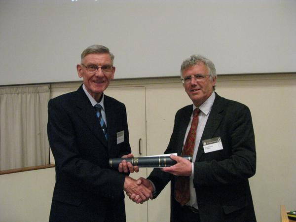 John Catt receives Geological Society's Distinguished Service Award
