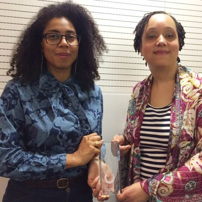 Caroline and Gemma win UCL Cultural Project of the Year