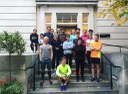 Running to support the Alzheimers Society