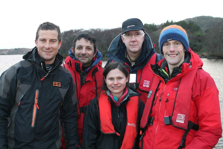 Sampling Britain's deepest lake