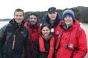 Sampling Britain's deepest lake