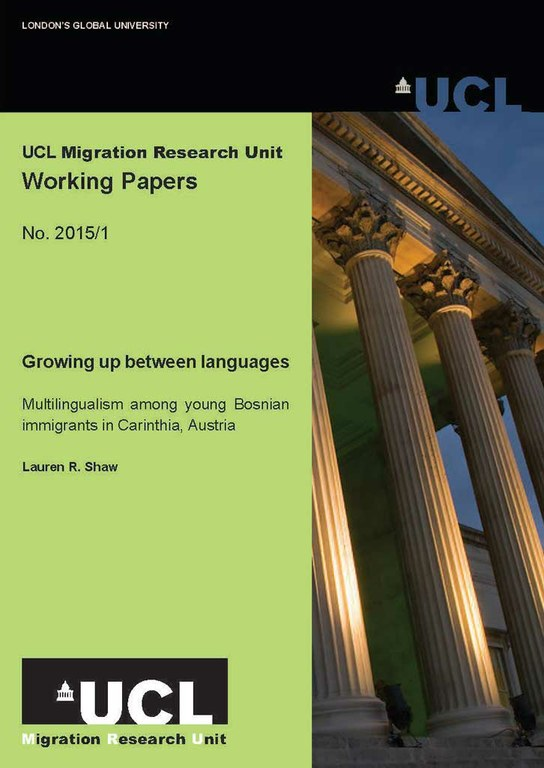 Three new Working Papers from Migration Research Unit