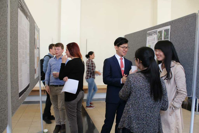 Geography MSc research on display