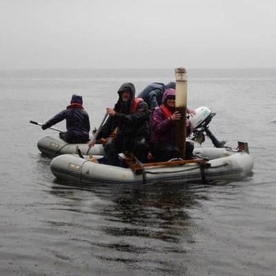 ECRC team in NERC Hydroscape fieldwork