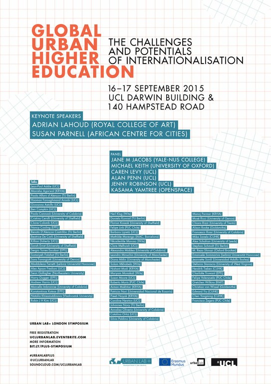 'Internationalising Urban Higher Education'