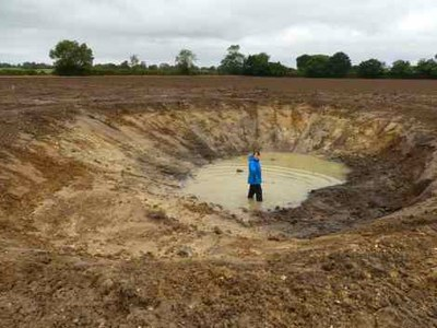 "Bringing ""Ghost Ponds"" back to life"