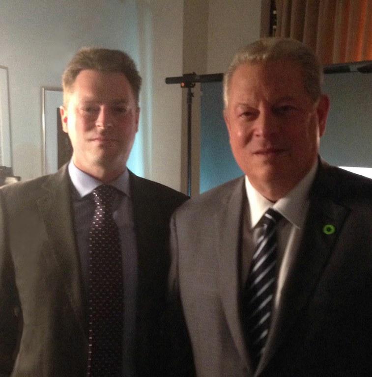 Mark Maslin interviews Al Gore