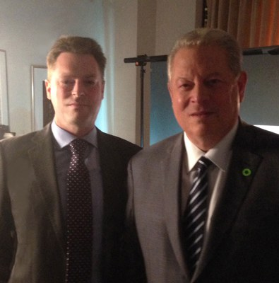 Mark Maslin interviews Al Gore