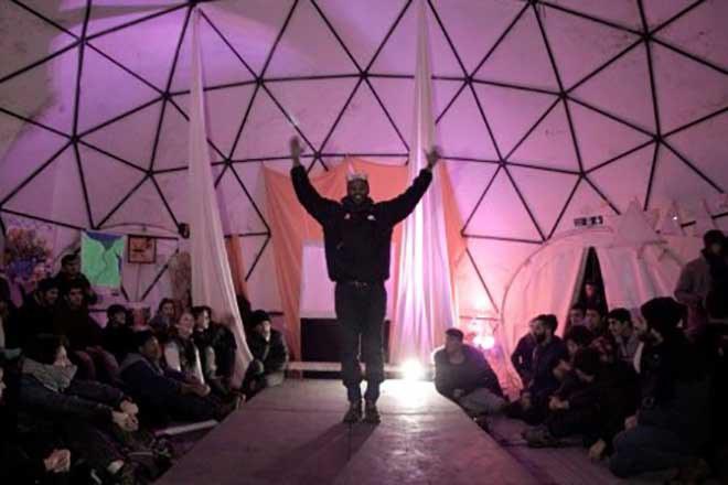Exploring migration through live performance