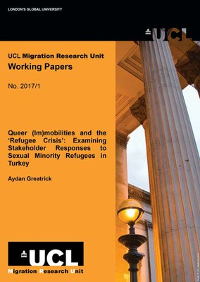 Five new Migration Research Unit Working Papers