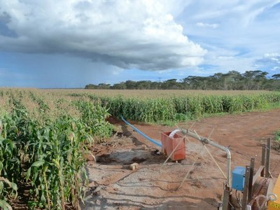 Fossil groundwater vulnerable to modern contamination