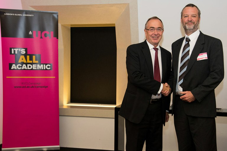 Ensis inducted into UCL's Circle of Benefactors