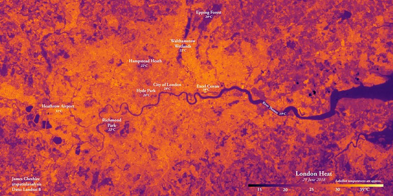 UCL Geography experts advise on living with the heat