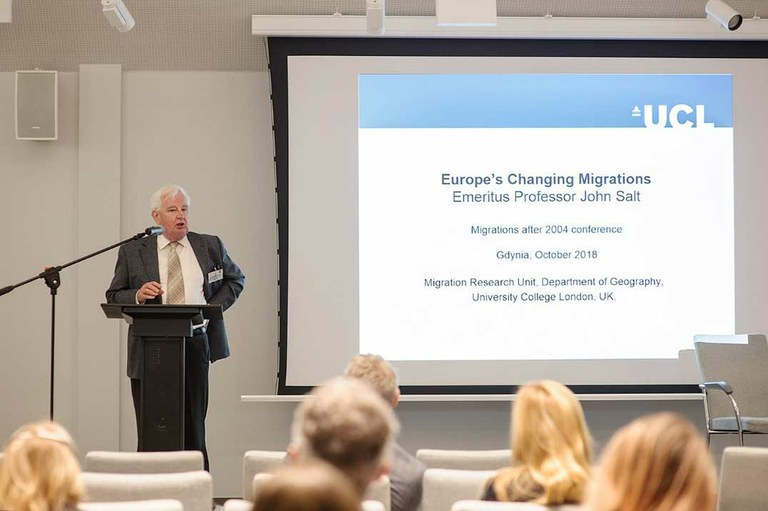Europe's Changing Migrations
