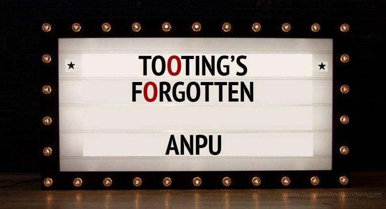 Tooting Forgotten?