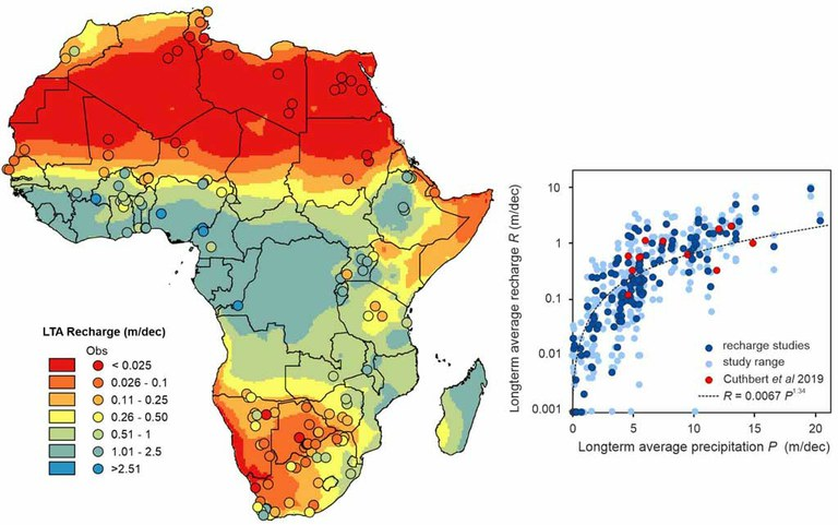 New groundwater maps support African water security and adaptation to climate change