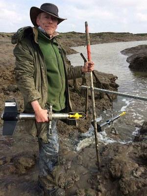 Fieldwork technicians and environmental research