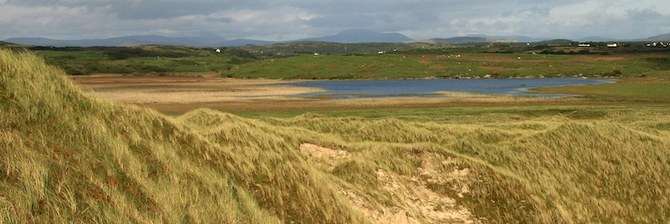Magheramore dunes, Sheskinmore lough