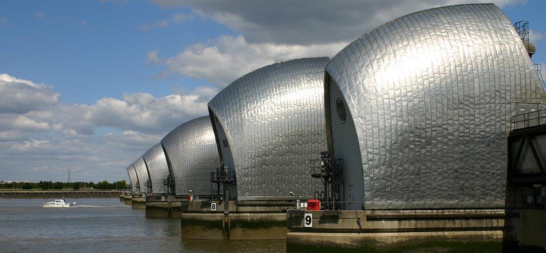Thames Barrier (Helene Burningham)