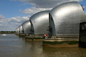 Thames Barrier (Helene Burningham)